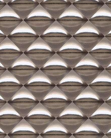 Fémes metál hatású modern geometrikus mintás eijffinger luxus tapéta