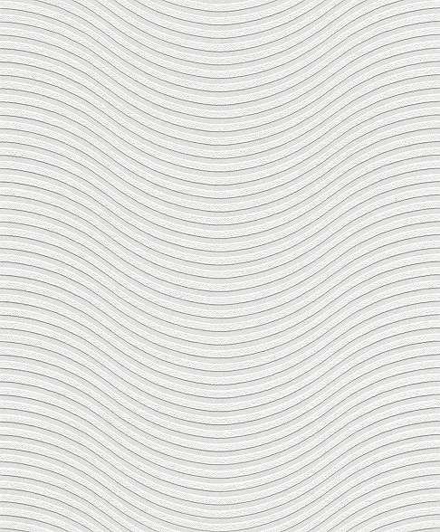 Festhető tapéta csíkos, hullám mintával