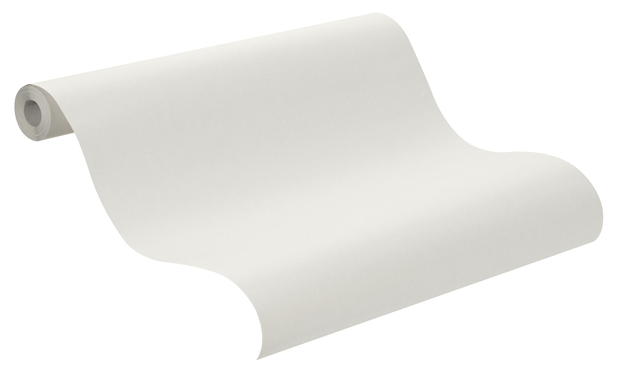 Foltos hatású, tört fehér színű uni tapéta