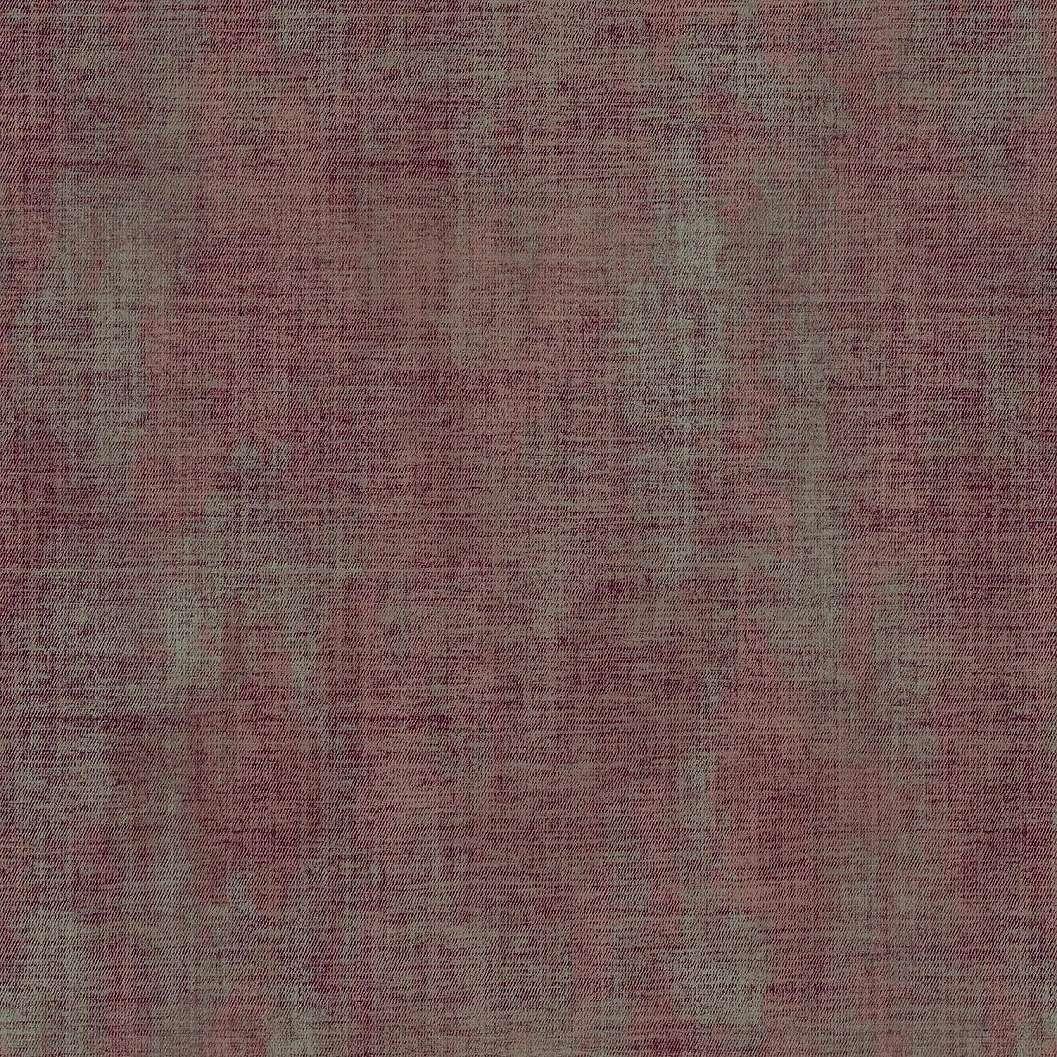 Foltos textilhatású piros, mályva vinyl exkluziv tapéta