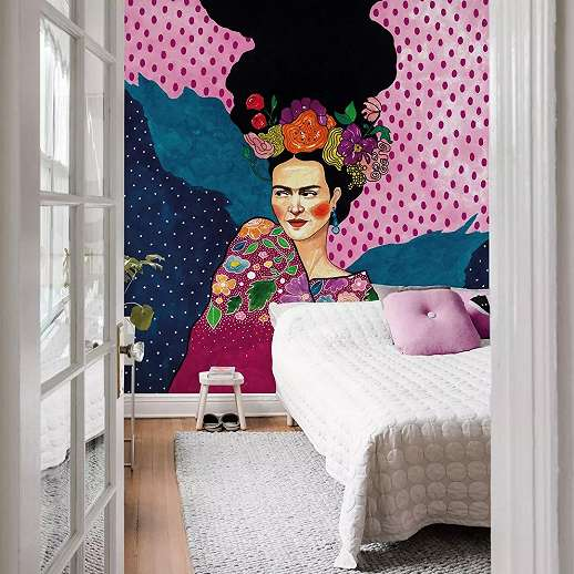 Frida Kahlo vlies fali poszter