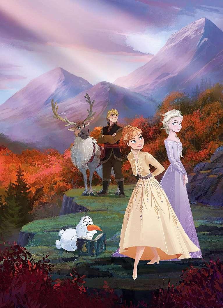 Frozen Jégvarázs gyerekszobai fali poszter