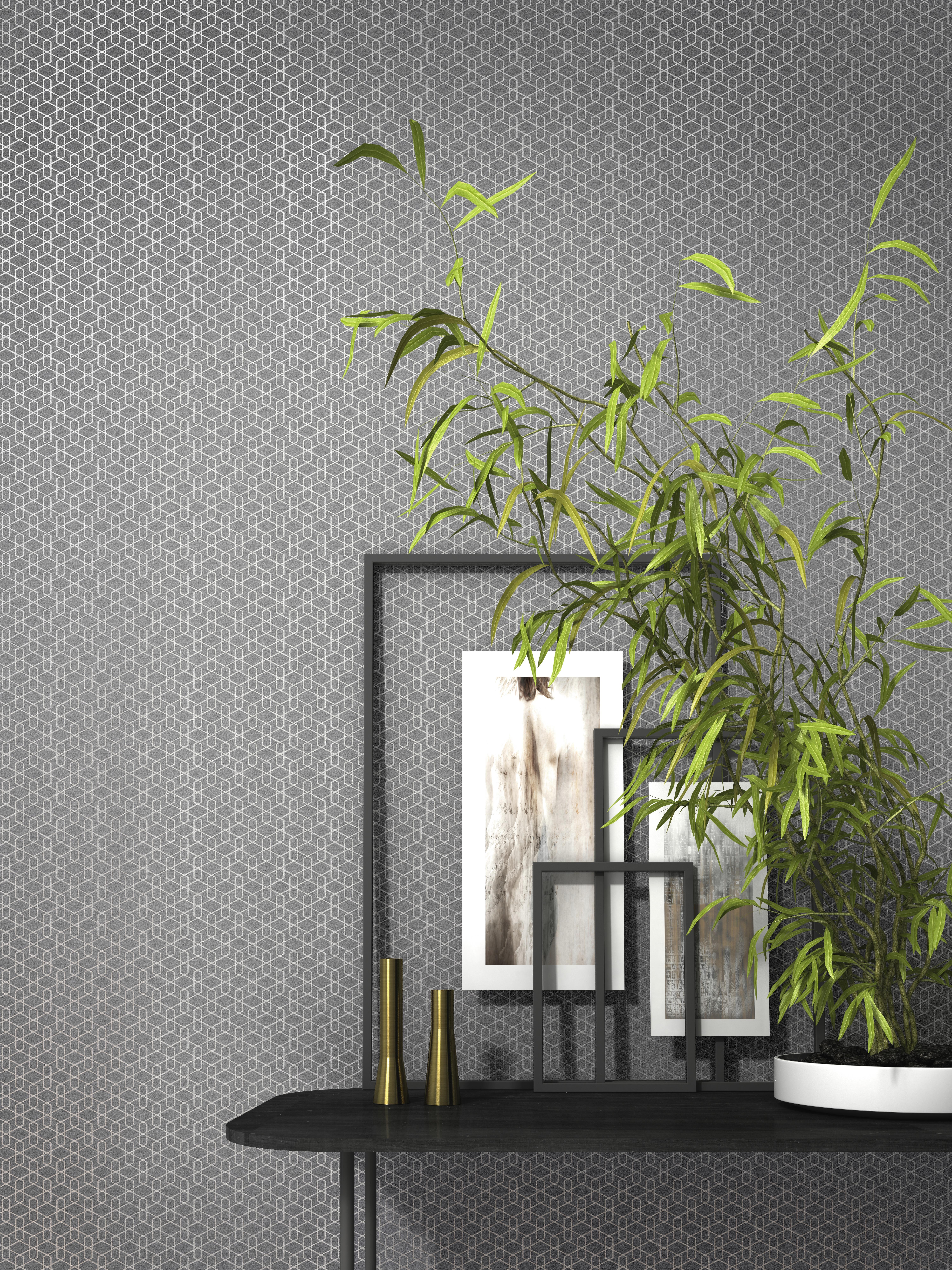 Geometriai mintás modern tapéta