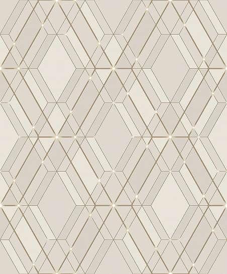 Geometriai mintás tapéta tükröződő geometria mintával