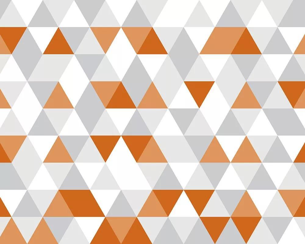 Geometrikus mintás skandináv stílusú fali poszter