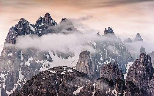 Gigantikus dolomit hegység fali poszter
