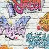 Graffiti mintás tapéta