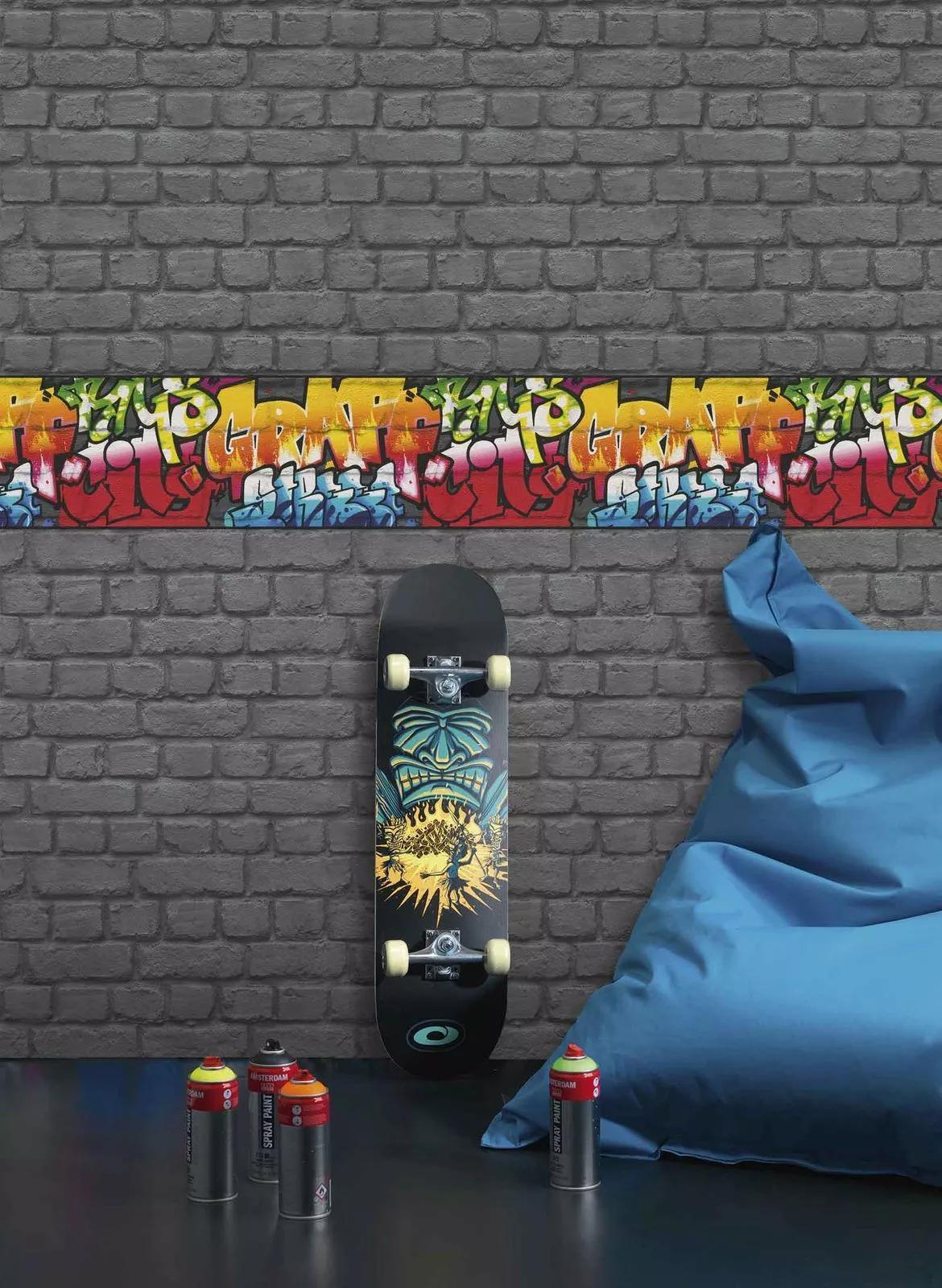 Graffiti stílusú bordűr