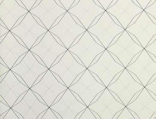 Gyerek tapéta geometriai mintával fekete fehér színben