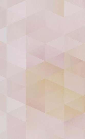 Gyerek tapéta geometriai mintával lányos színvilágban