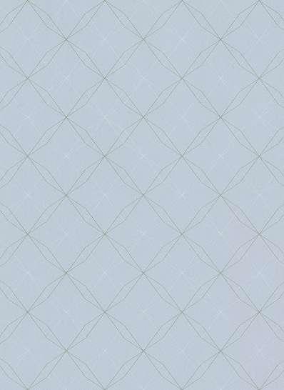 Gyerek tapéta halványkék színben geometriai mintával