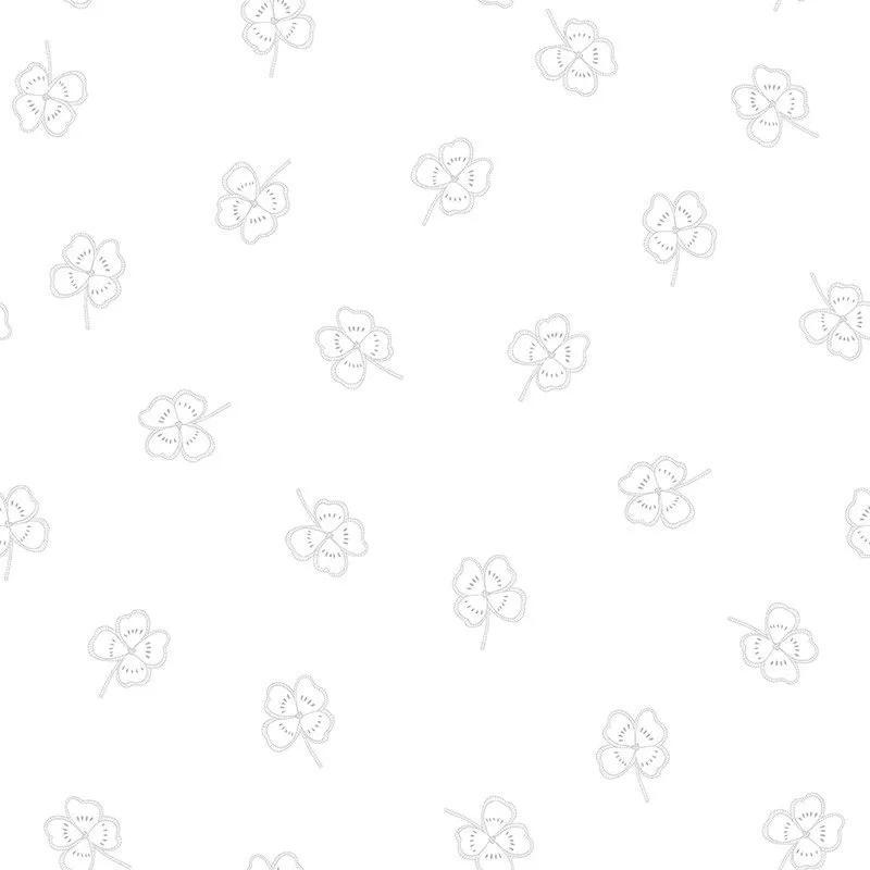 Gyerek tapéta lohere mintával ezüstszürke színben