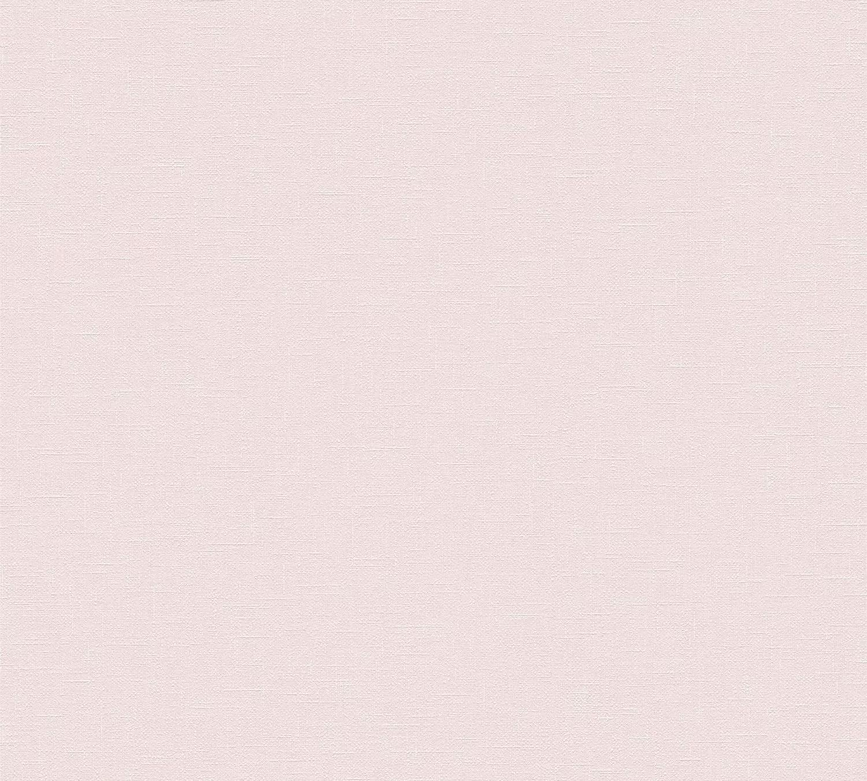 Halványrózsaszín vlies tapéta struktúrált habosított felülettel