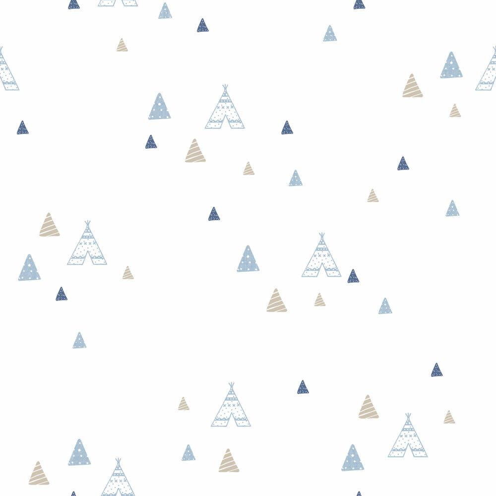 Indián sátor mintás gyerek tapéta