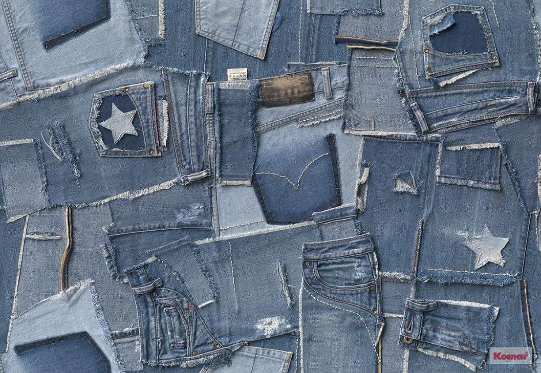 Jeans word fali poszter