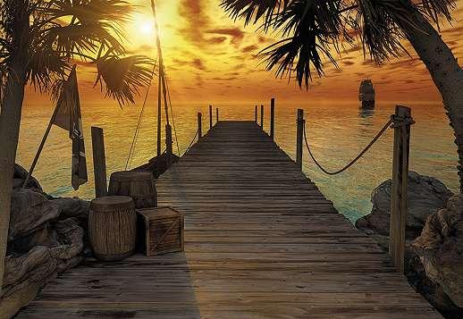 Kalóz sziget fali poszter