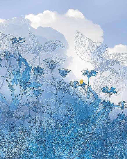 Káprázatos kék világ poszter