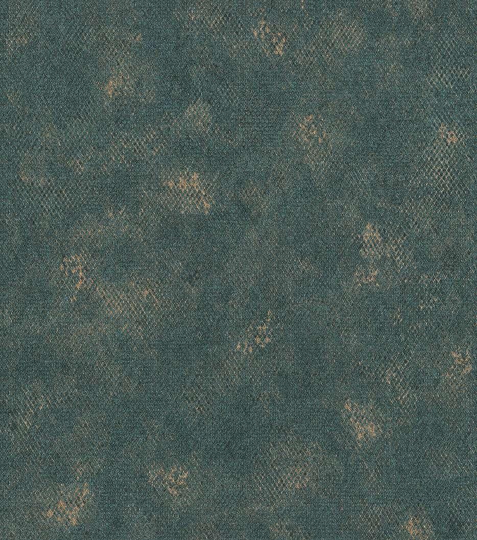 Kék arany kigyóbőr mintás vlies tapéta
