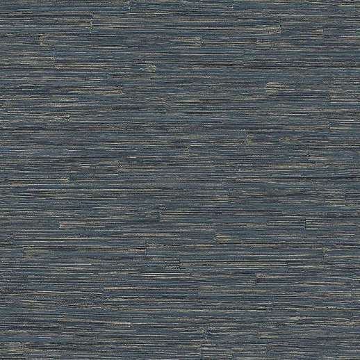 Kék arany modern csíkos mintás design tapéta