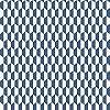 Kék art deco hangulatú geometrikus mintás vlies tapéta