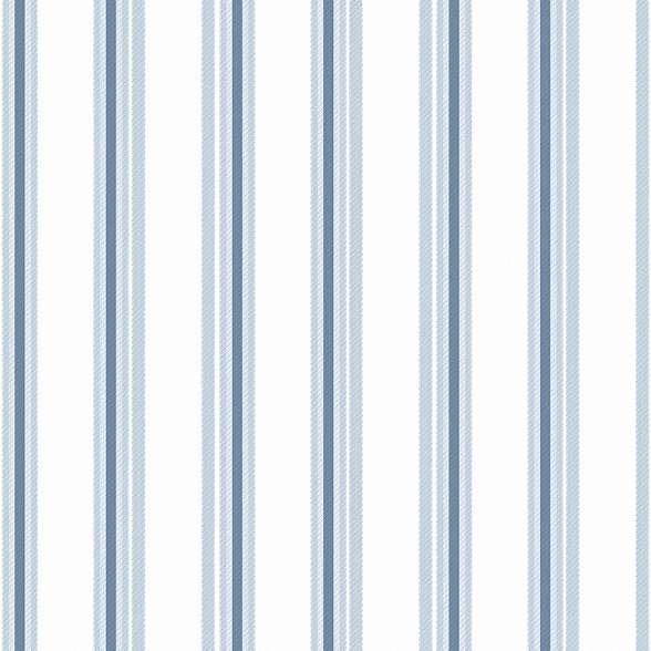 Kék csíkos mintás gyerek tapéta