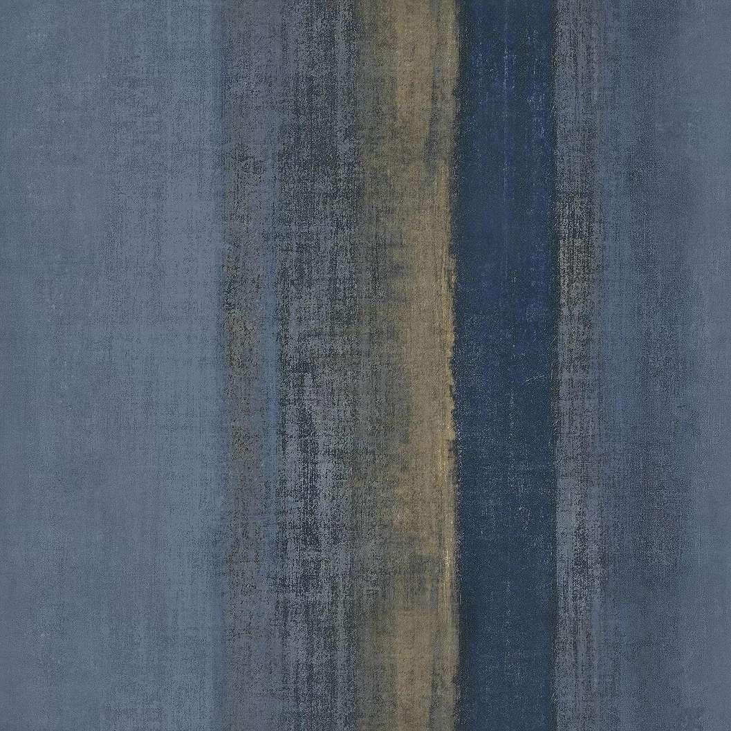 Kék csíkos mintás vinyl luxus tapéta