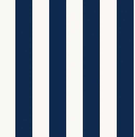Kék fehér csíkos mintás vlies tapéta
