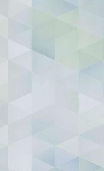 Kék geometriai mintás gyerek tapéta fiús színvilágban