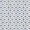 Kék geometrikus mintás exkluziv vinyl tapéta