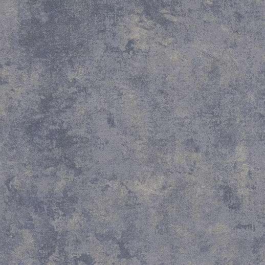 Kék koptatott antik hatású vlies vinyl dekor tapéta