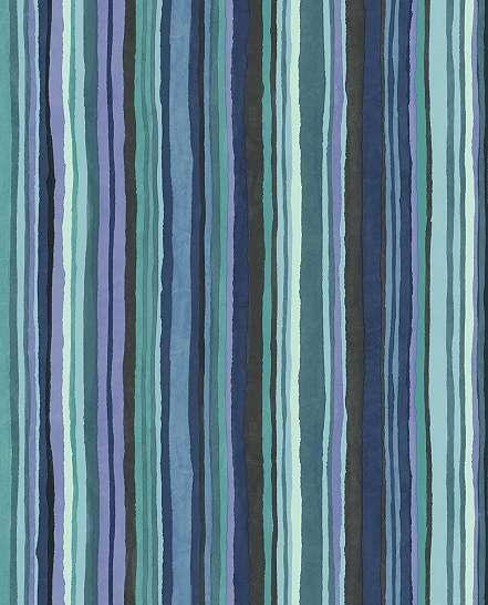 Kék modern csíkos mintás Eijffinger luxus tapéta