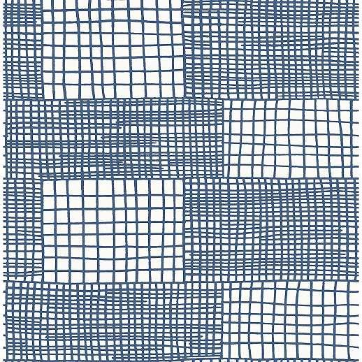 Kék modern csíkos mintás vlies design tapéta