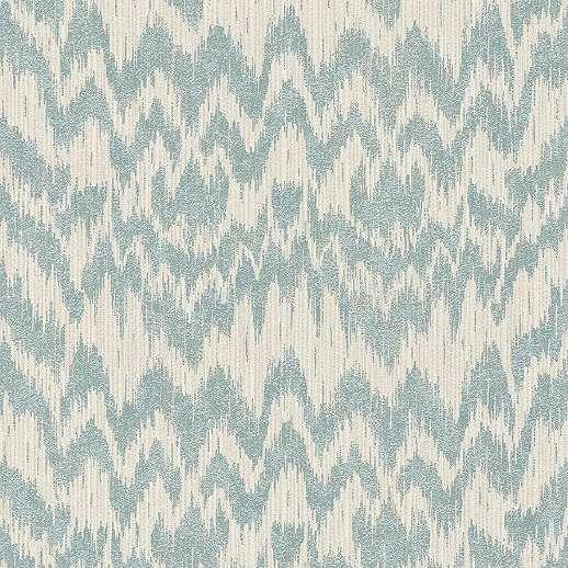 Kék modern hullám mintás vlies tapéta enyhe csillogó felülettel