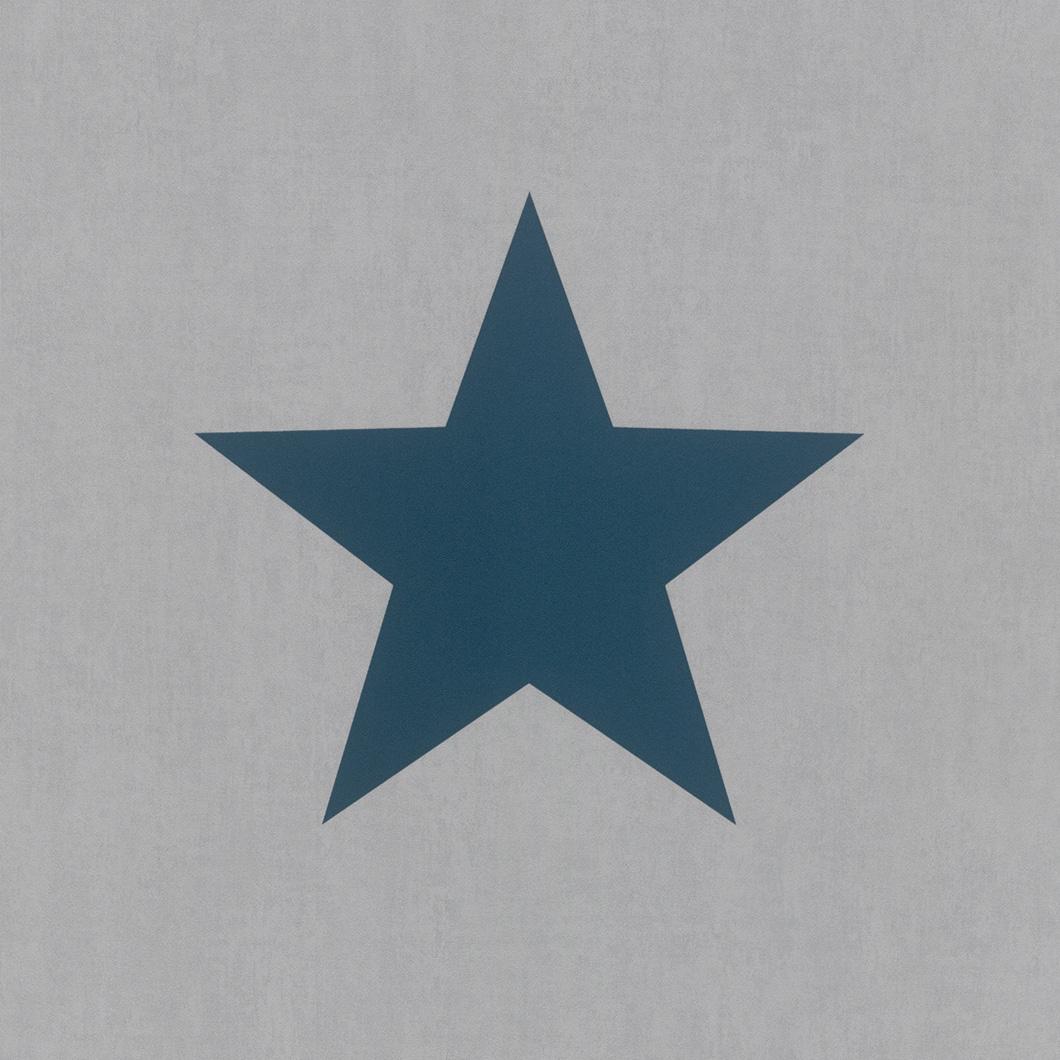 Kék óriás csillagmintás gyerek tapéta