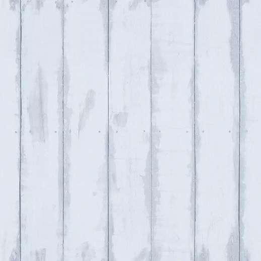 Kék színű fahatású vlies tapéta