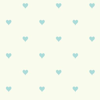 Kék szívecske mintás gyerek tapéta