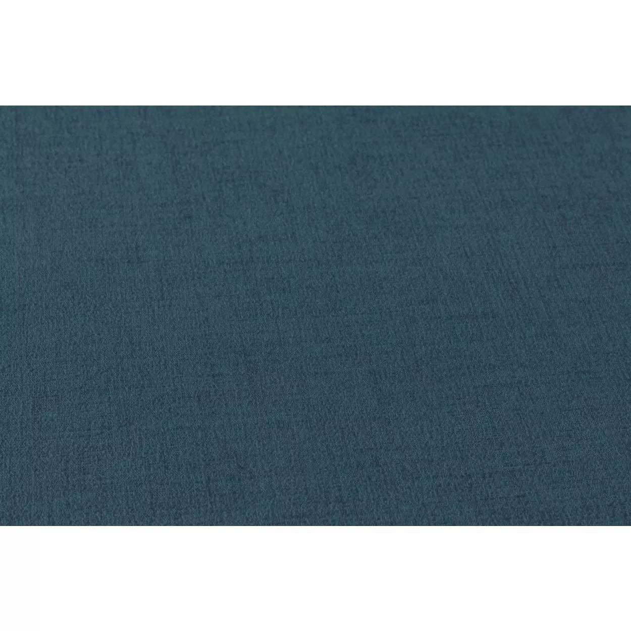 Kék textil szőtt hatású egyszínű vlies vinyl tapéta