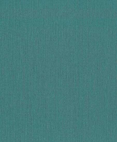 Kék-türkíz egyszínű uni vlies tapéta