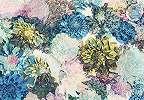 Keleties hangulatú virágok fali poszter