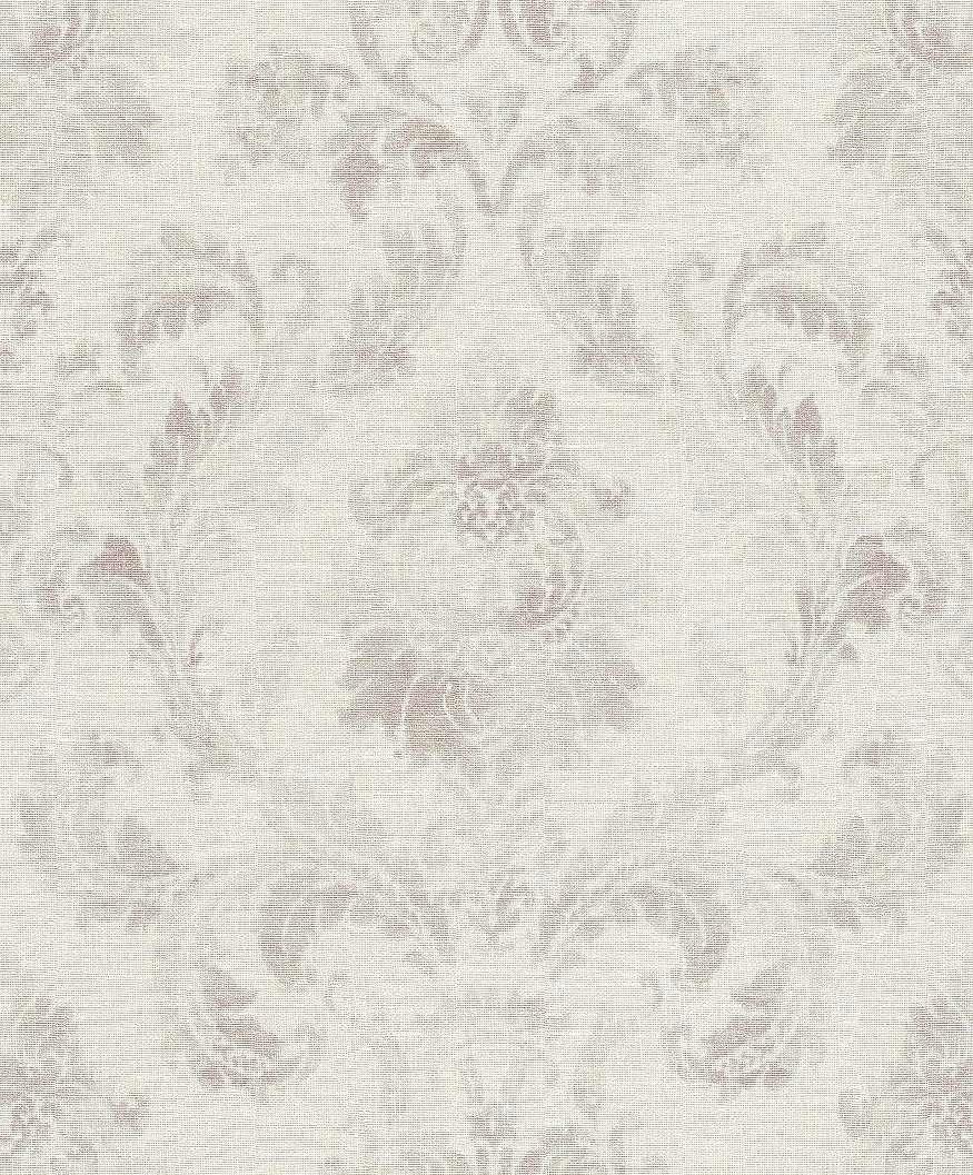 Klasszikus barokk mintás tapéta harmónikus lila szürke színekkel