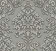 Klasszikus barokk mintás tapéta szürke színben csillogó mintával