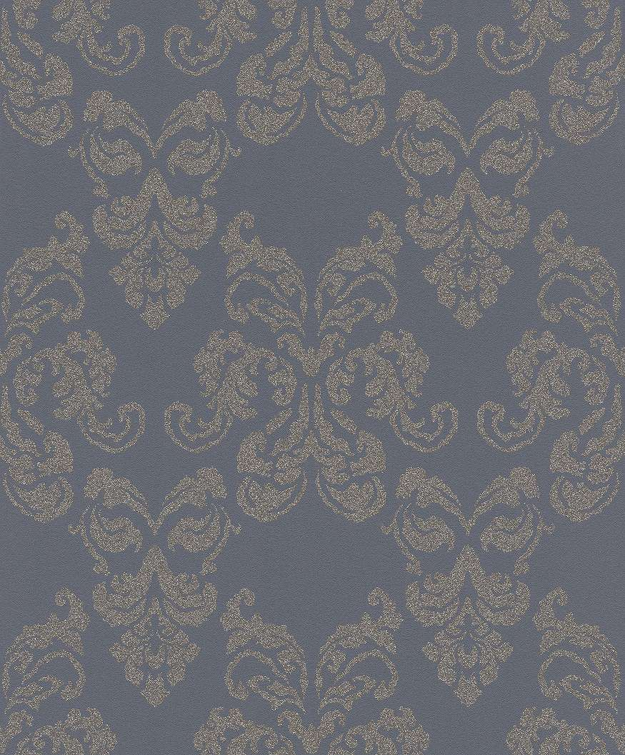 Klasszikus hangulatú barokk mintás tapéta
