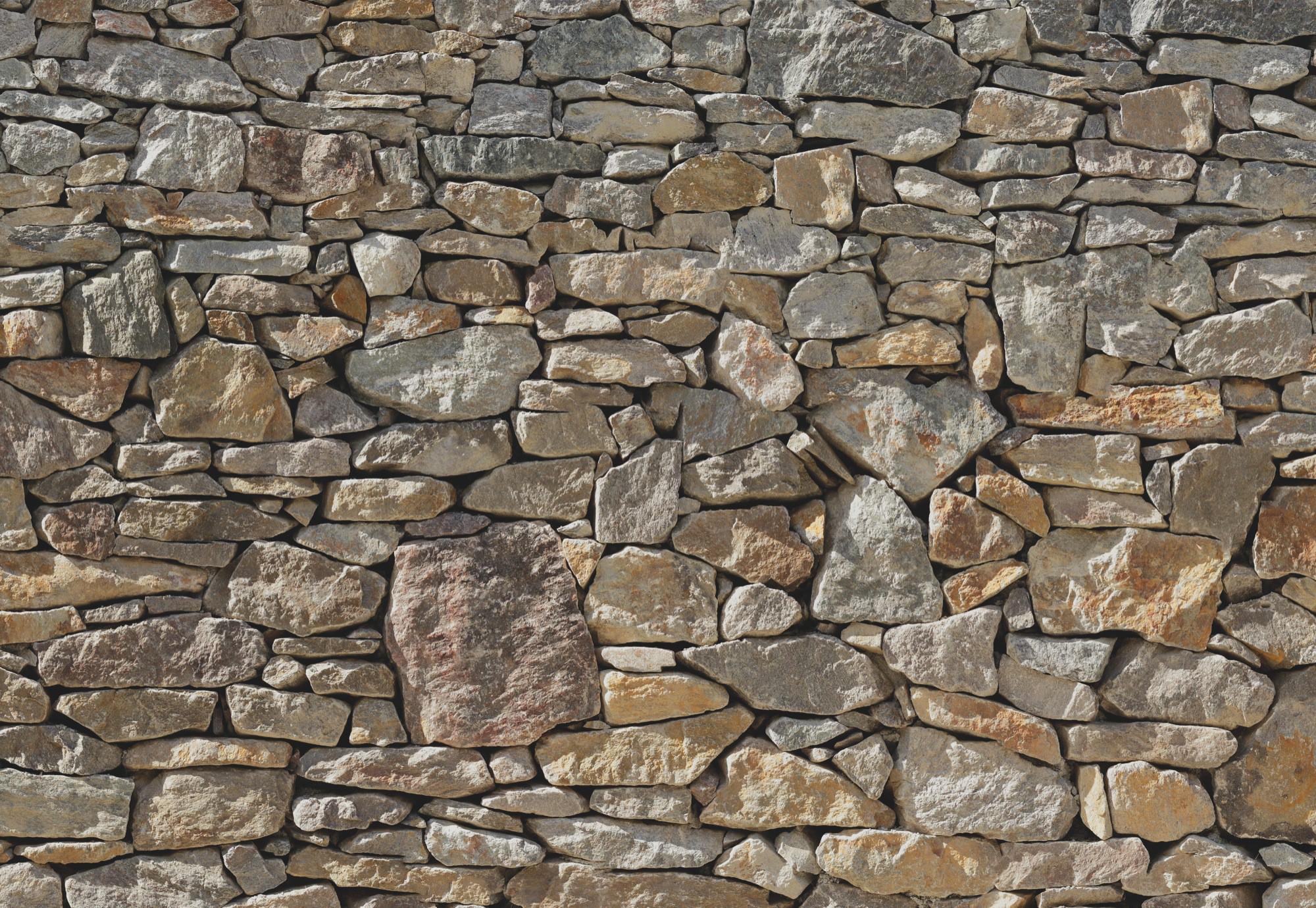 Kőfal hatású fali poszter