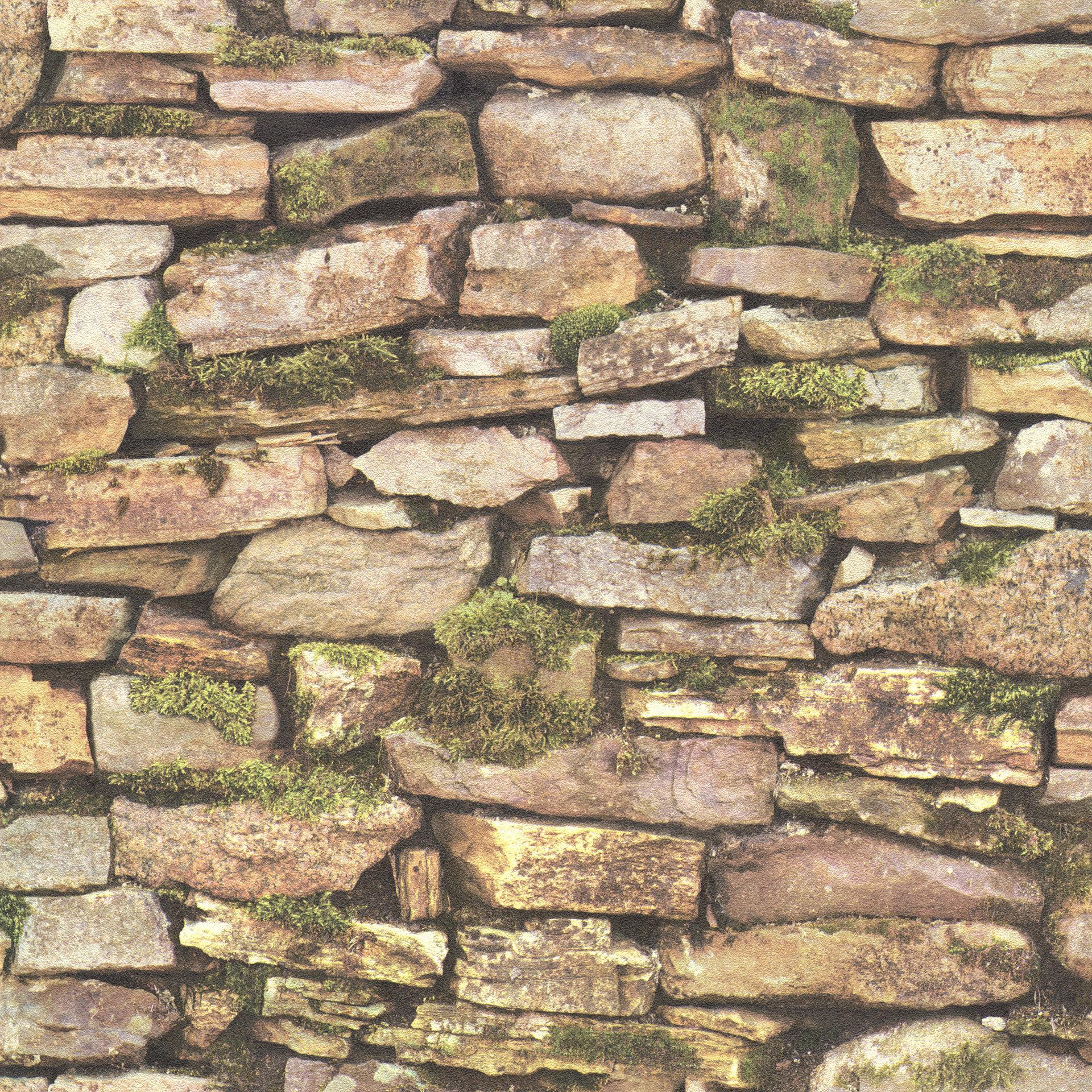 Kőfal hatású tapéta