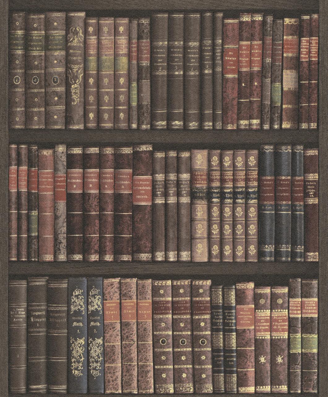 Könyvespolc tapéta