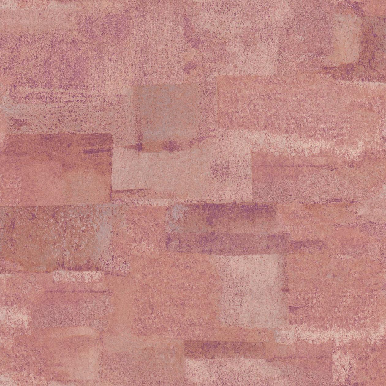 Korall-lila színű beton hatású tapéta