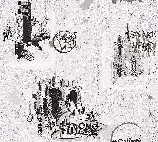 Kreatív betonhatású gyerek tapéta