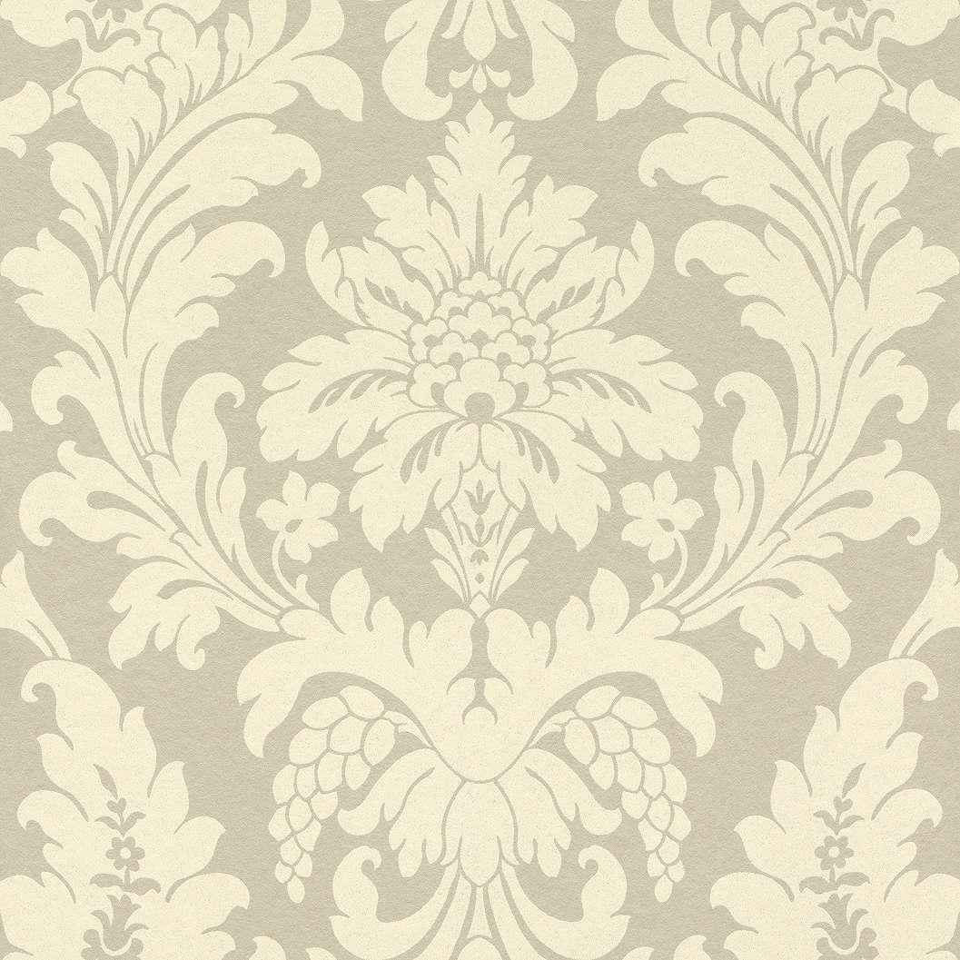 Krém, beige klasszikus barokk mintás tapéta