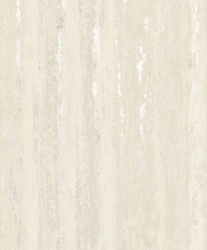 Krém bézs csíkos foltós metál effekt hatású vlies tapéta