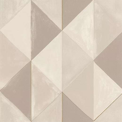 Krém bézs modern háromszög geometrikus mintás vlies tapéta